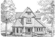 Dream House Plan - Cottage Exterior - Front Elevation Plan #410-186