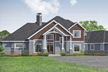 House Design - Craftsman Exterior - Front Elevation Plan #124-1163