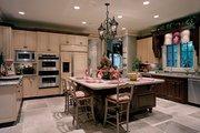 European Style House Plan - 5 Beds 5.5 Baths 5448 Sq/Ft Plan #453-25 Interior - Kitchen
