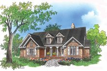 Dream House Plan - Country Exterior - Front Elevation Plan #929-395