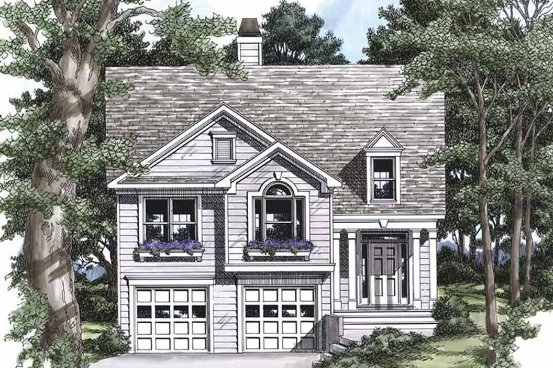 Country Exterior - Front Elevation Plan #927-446 - Houseplans.com