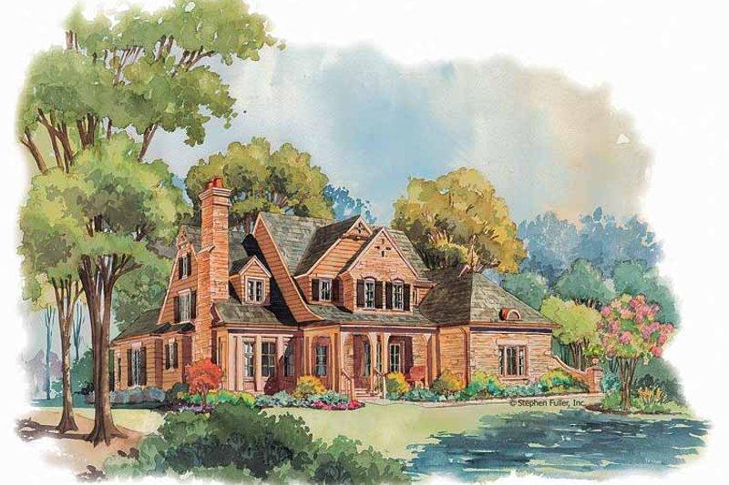 Victorian Exterior - Front Elevation Plan #429-252 - Houseplans.com