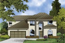 House Plan Design - Contemporary Exterior - Front Elevation Plan #1015-49
