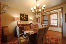 Home Plan - Ranch Interior - Dining Room Plan #140-149