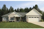 Craftsman Style House Plan - 2 Beds 2.5 Baths 1633 Sq/Ft Plan #928-159 Exterior - Front Elevation