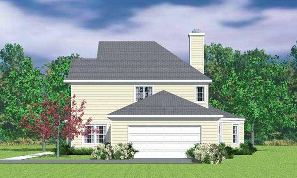 Country Floor Plan - Other Floor Plan Plan #72-1108