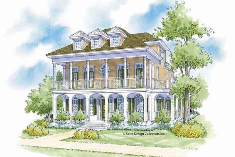 Classical Exterior - Front Elevation Plan #930-400 - Houseplans.com