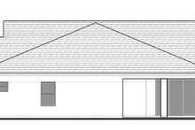 Ranch Exterior - Rear Elevation Plan #1058-98