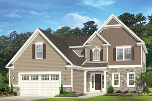 Architectural House Design - Traditional Exterior - Front Elevation Plan #1010-149