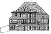 Dream House Plan - European Exterior - Rear Elevation Plan #119-223