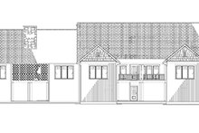 Traditional Exterior - Rear Elevation Plan #17-3292