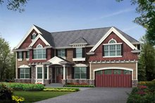 Home Plan - Craftsman Exterior - Front Elevation Plan #132-457