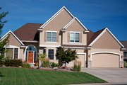 Traditional Style House Plan - 3 Beds 2.5 Baths 3018 Sq/Ft Plan #51-506 Exterior - Front Elevation