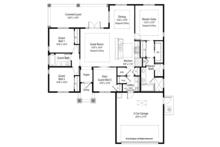 Country Floor Plan - Main Floor Plan Plan #938-72
