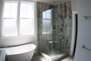 Farmhouse Style House Plan - 3 Beds 2.5 Baths 1854 Sq/Ft Plan #1070-26 Interior - Master Bathroom