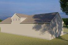 Dream House Plan - Farmhouse Exterior - Rear Elevation Plan #1060-83