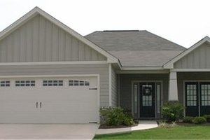Cottage Exterior - Front Elevation Plan #63-134