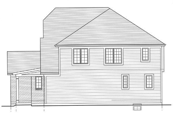 Country Floor Plan - Other Floor Plan Plan #46-818
