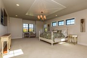 Country Style House Plan - 5 Beds 4.5 Baths 4724 Sq/Ft Plan #70-1488 Interior - Master Bedroom