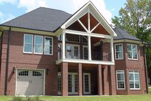 House Plan Design - Country Exterior - Rear Elevation Plan #927-440