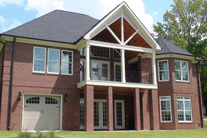 Country Exterior - Rear Elevation Plan #927-440 - Houseplans.com
