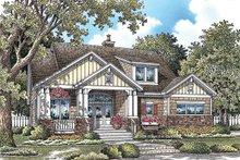 House Plan Design - Craftsman Exterior - Front Elevation Plan #929-917