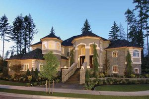 Dream House Plan - Country Exterior - Front Elevation Plan #132-483