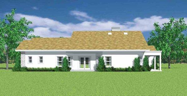 House Blueprint - European Floor Plan - Other Floor Plan #72-1136