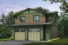 Home Plan - Craftsman Exterior - Front Elevation Plan #132-273