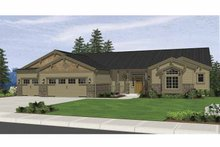 House Plan Design - Ranch Exterior - Front Elevation Plan #943-6