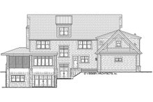 House Plan Design - Craftsman Exterior - Rear Elevation Plan #928-237