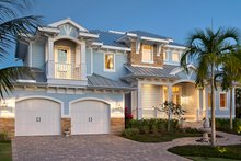 Home Plan - Country Exterior - Front Elevation Plan #1017-168