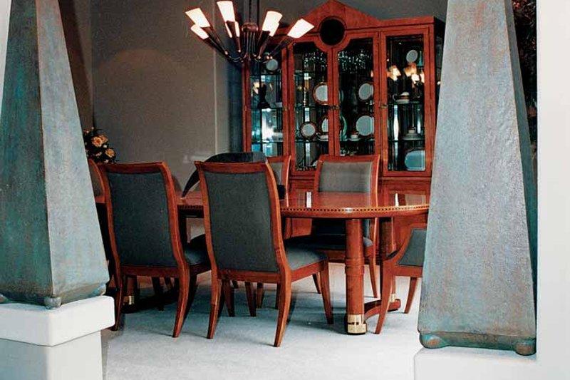 Mediterranean Interior - Dining Room Plan #47-895 - Houseplans.com