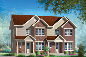 Traditional Exterior - Front Elevation Plan #25-4399