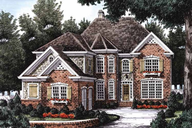 Country Exterior - Front Elevation Plan #927-654 - Houseplans.com