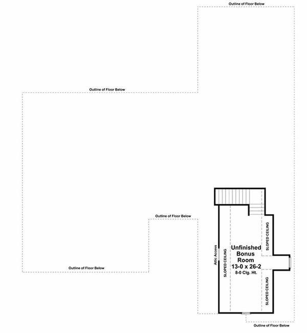 Country Floor Plan - Other Floor Plan Plan #21-284