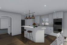 Ranch Interior - Kitchen Plan #1060-13