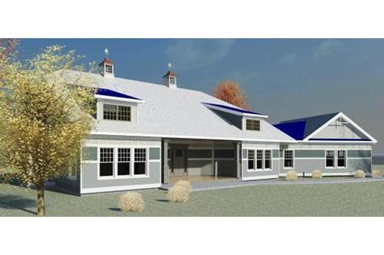 Craftsman Exterior - Front Elevation Plan #524-3