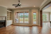 Craftsman Style House Plan - 4 Beds 2.5 Baths 2329 Sq/Ft Plan #430-152 Interior - Family Room