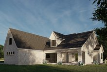 House Plan Design - European Exterior - Other Elevation Plan #923-186