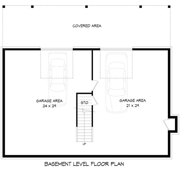 Home Plan - Country Floor Plan - Lower Floor Plan #932-351