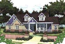 Home Plan - Farmhouse Exterior - Front Elevation Plan #120-139