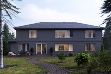 Craftsman Exterior - Rear Elevation Plan #1066-20
