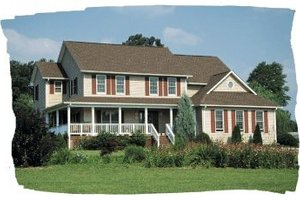Traditional Exterior - Front Elevation Plan #20-271