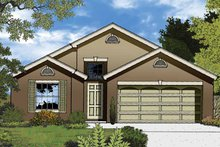 Dream House Plan - Country Exterior - Front Elevation Plan #1015-35