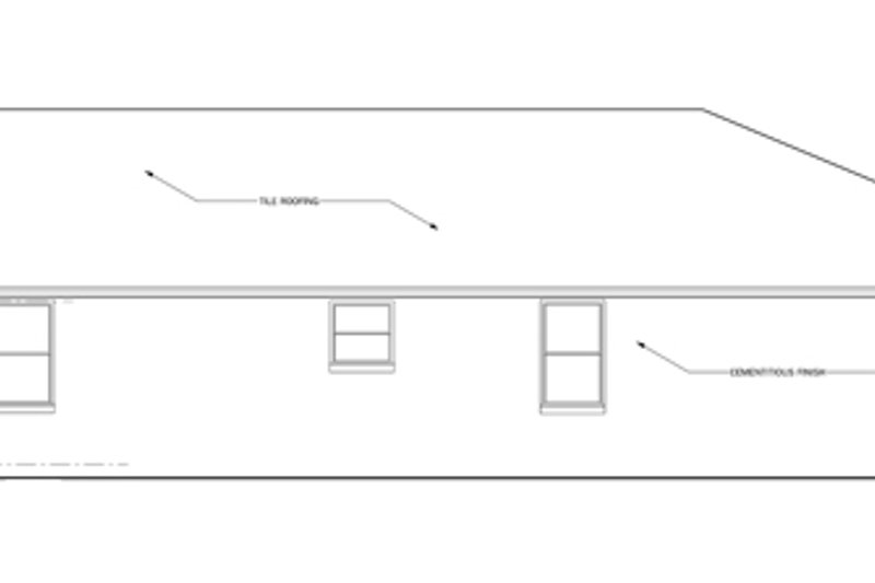 Craftsman Exterior - Other Elevation Plan #1058-60 - Houseplans.com