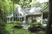 Traditional Style House Plan - 3 Beds 2.5 Baths 2554 Sq/Ft Plan #928-106 Exterior - Rear Elevation