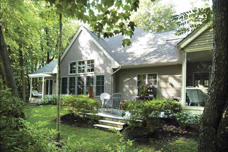 Traditional Exterior - Rear Elevation Plan #928-106 - Houseplans.com