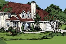 Architectural House Design - Contemporary Exterior - Front Elevation Plan #320-791