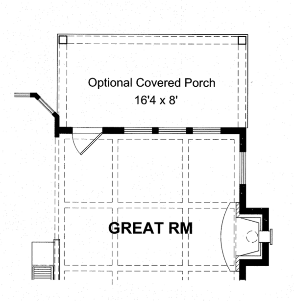 Colonial Floor Plan - Other Floor Plan Plan #316-279
